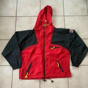 Vintage Marlboro Windbreaker Jacket Size L 90s vtg